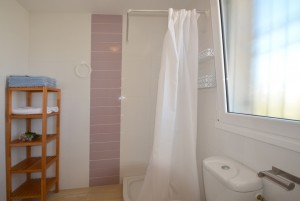 Shower house rent